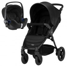 Britax Römer - Duo B-Motion 4 i-Size Bundle - Cosmos Black '2018