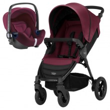 Britax Römer - Duo B-Motion 4 i-Size Bundle - Wine Red '2018