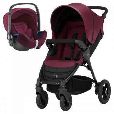 Britax Römer - Duo B-Motion 4 i-Size Bundle - Wine Red '2019