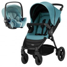 Britax Römer - Duo B-Motion 4 i-Size Bundle - Lagoon Green '2018