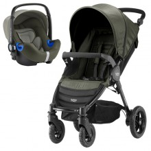 Britax Römer - Duo B-Motion 4 i-Size Bundle - Olive Denim '2018