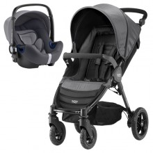 Britax Römer - Duo B-Motion 4 i-Size Bundle - Black Denim '2018