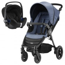 Britax Römer - Duo B-Motion 4 i-Size Bundle - Blue Denim '2018
