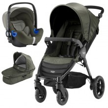 Britax Römer - Trio B-Motion 4 i-Size Bundle - Wood Brown '2017