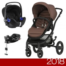 Britax Römer - Duo Affinity 2 i-Size Bundle - Black Wood Brown '2018