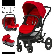 Britax Römer - Trio Affinity 2 - Black Flame Red '2017