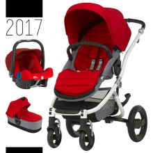 Britax Römer - Trio Affinity 2 - White Flame Red '2017