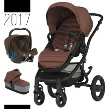 Britax Römer - Trio Affinity 2 - Black Wood Brown '2017