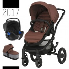 Britax Römer - Trio Affinity 2 i-Size Bundle - Black Wood Brown '2017