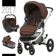 Britax Römer - Trio Affinity 2 - White Wood Brown '2017