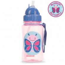 Skip Hop - Copo Straw Bottle - Butterfly