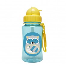 Skip Hop - Copo Straw Bottle - Raccoon