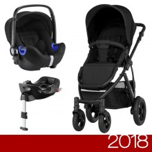 Britax Römer - Duo Smile 2 i-Size Bundle - Cosmos Black '2018