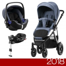 Britax Römer - Duo Smile 2 i-Size Bundle - Blue Denim '2018