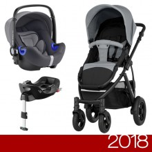 Britax Römer - Duo Smile 2 i-Size Bundle - Steel Grey '2018