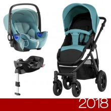 Britax Römer - Duo Smile 2 i-Size Bundle - Lagoon Green '2018