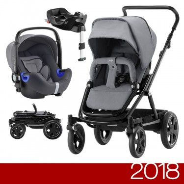 Britax Römer - Duo GO BIG 2 i-Size - Steel Grey '2018