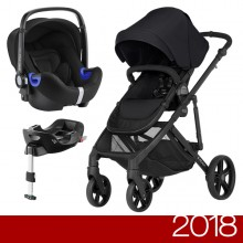 Britax Römer - Duo B-Ready i-Size Bundle - Cosmos Black '2018