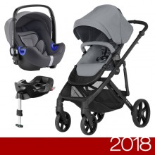 Britax Römer - Duo B-Ready i-Size Bundle - Steel Grey '2018