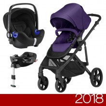 Britax Römer - Duo B-Ready i-Size Bundle - Mineral Purple '2018