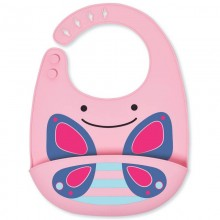 Skip Hop - Babete Silicone ZOO  - Butterfly