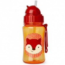 Skip Hop - Copo Straw Bottle - Fox