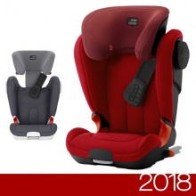 Römer - Kidfix XP SICT Black Series - Flame Red '2018
